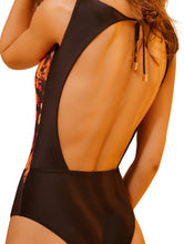Load image into Gallery viewer, Ônix Halter Top One-piece
