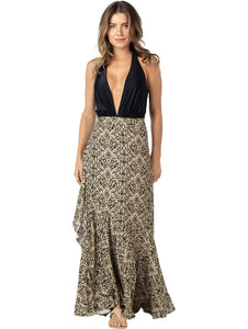 Safari Long Skirt