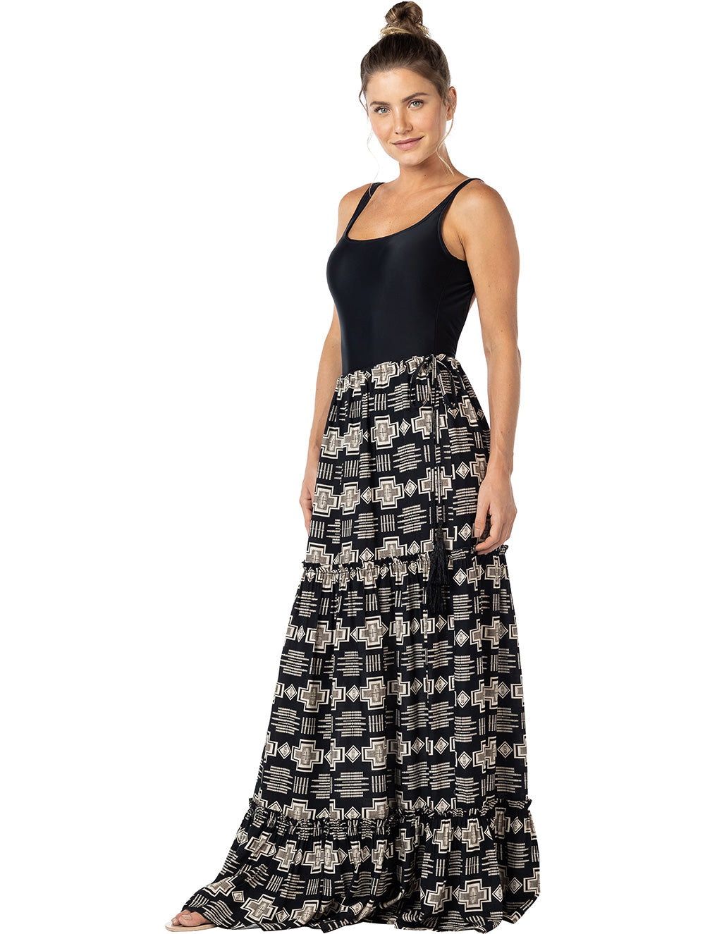 Marfim Long Skirt
