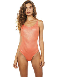 Foil One-piece with Thin Straps