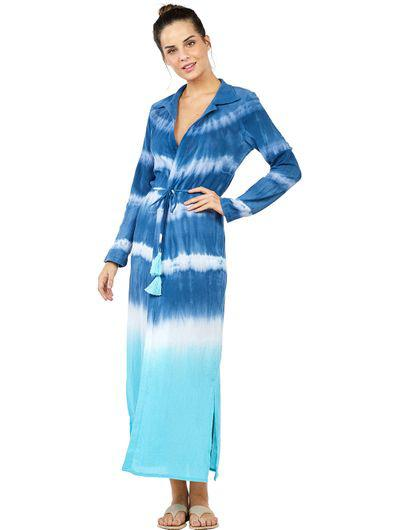 Tie Dye Long Dress