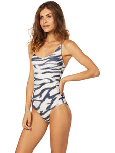 Cayman One-piece with Thin Straps