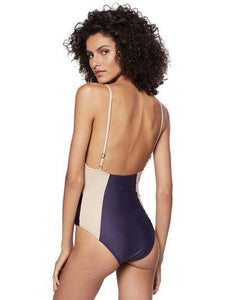 Kampala Solid-Color Bicolor One-Piece