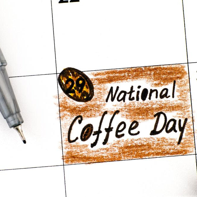 Let's Celebrate National Coffee Day!