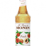 Monin Peach Coffee Syrup