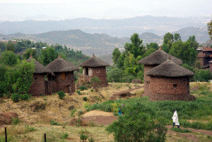 Ethiopian Mountain Village