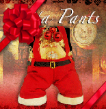 Santa Pants Holiday Coffee GIft Set