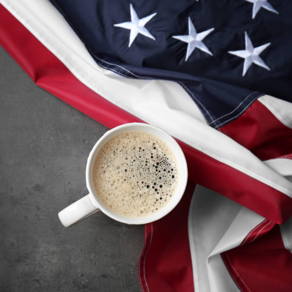 patriotic coffees, coffees with a cause