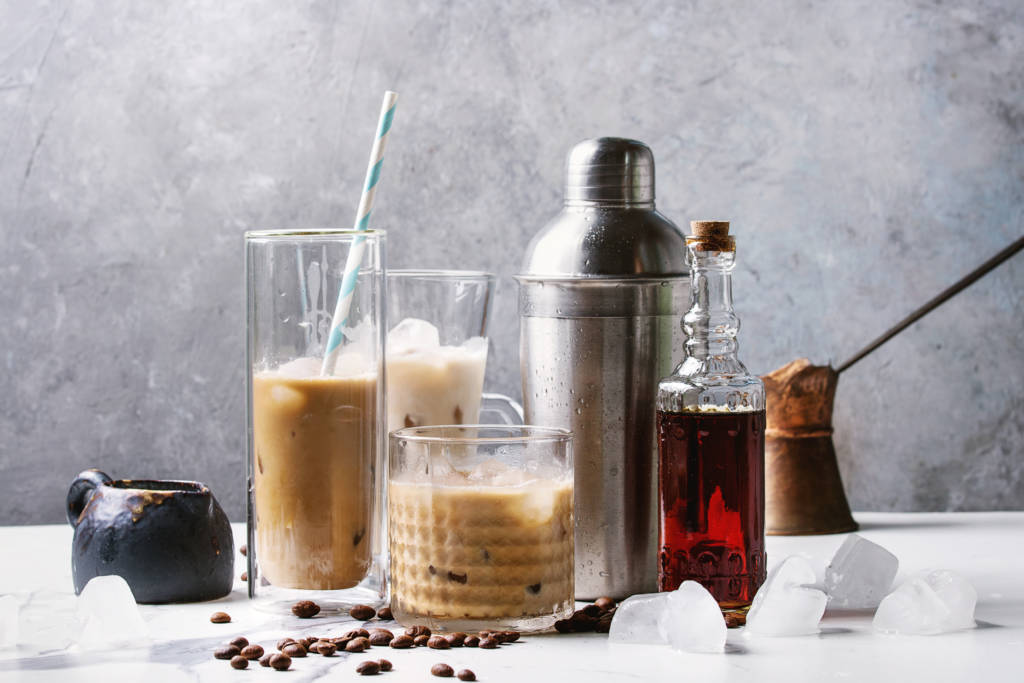 non-alcoholic coffee mocktails