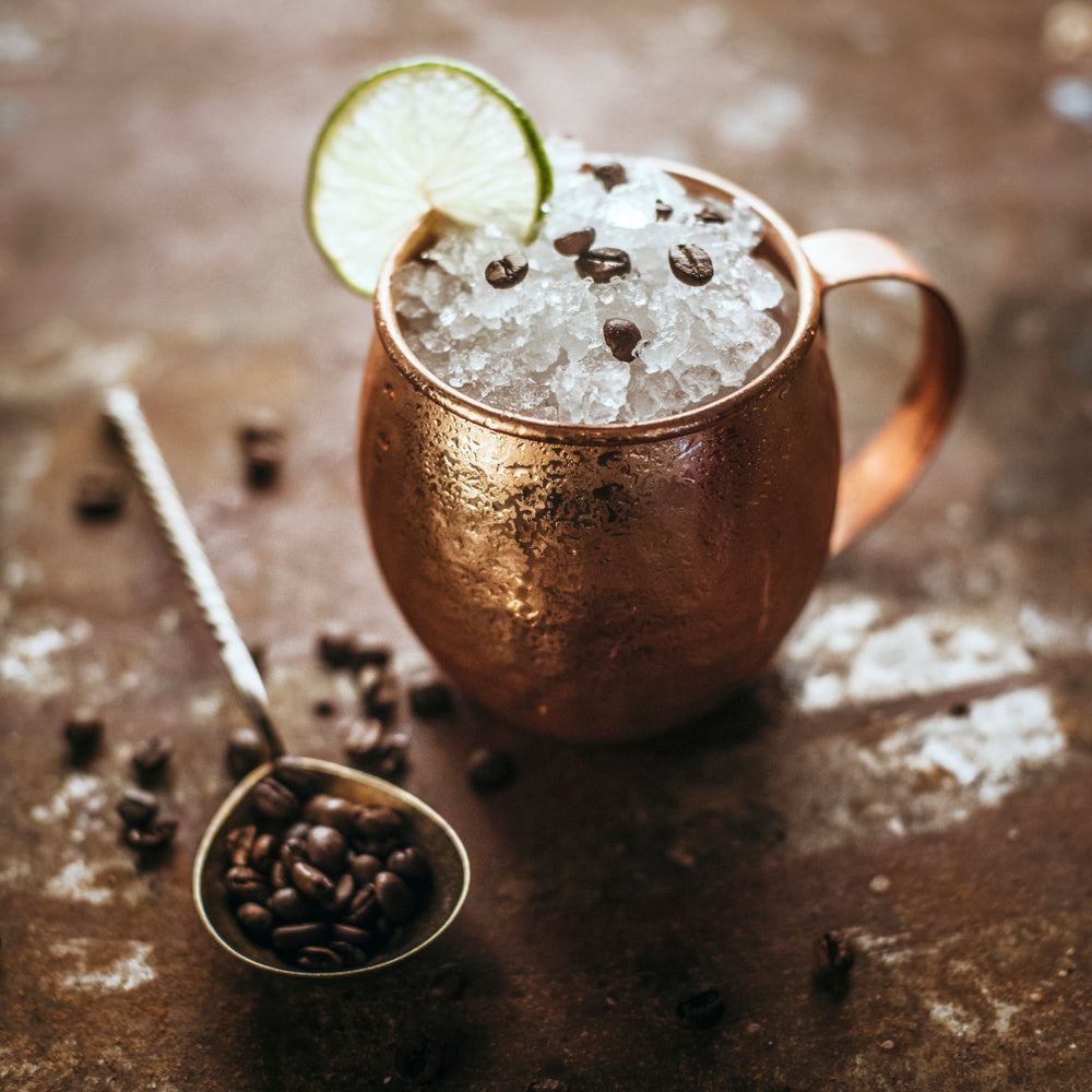 coffee mule non-alcoholic mocktail