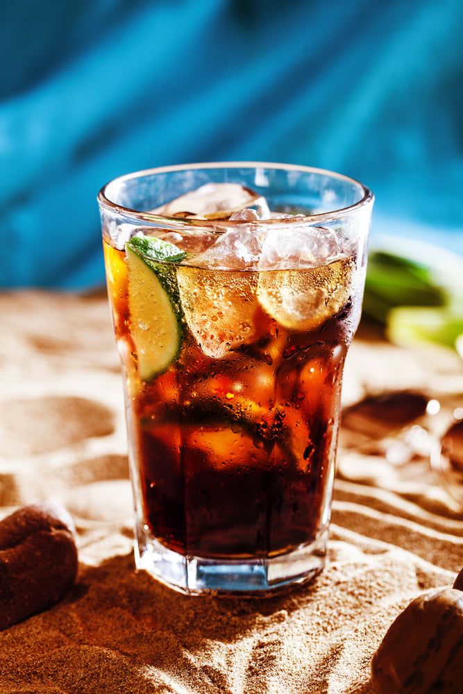 coffee cola non-alcoholic mocktail