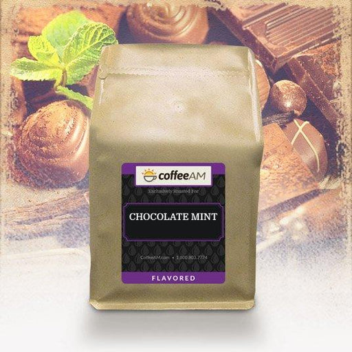 Chocolate Mint Flavored Coffee