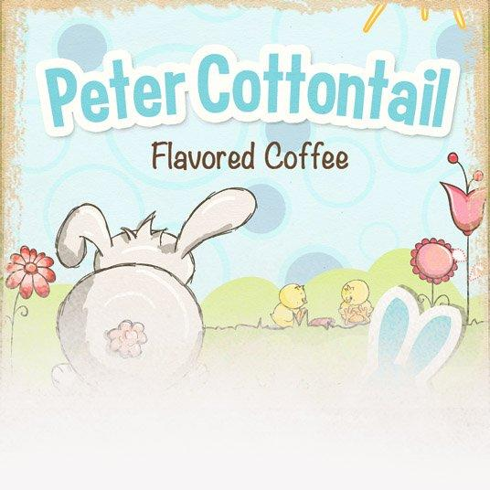 Peter Cottontail Flavored Coffee (Easter Theme)