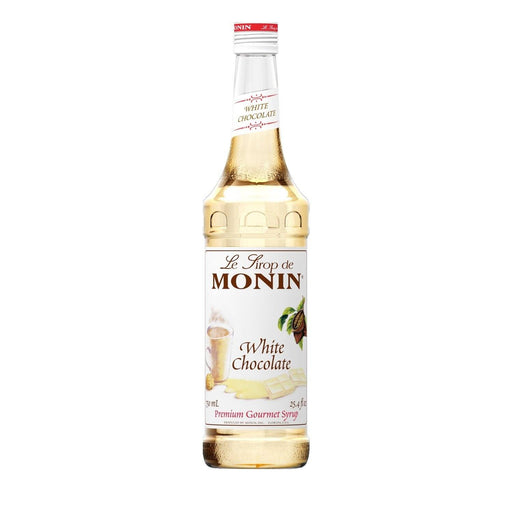 Monin White Chocolate Coffee Syrup, 750 ml