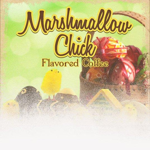 Marshmallow Chicks Flavored Coffee (Easter Theme)