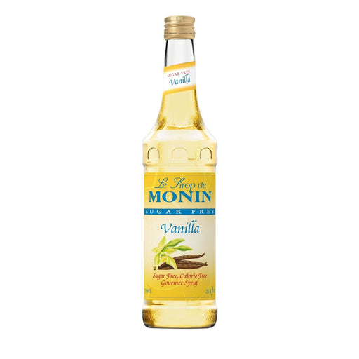 Monin Sugar-Free Vanilla Coffee Syrup, 750 ml