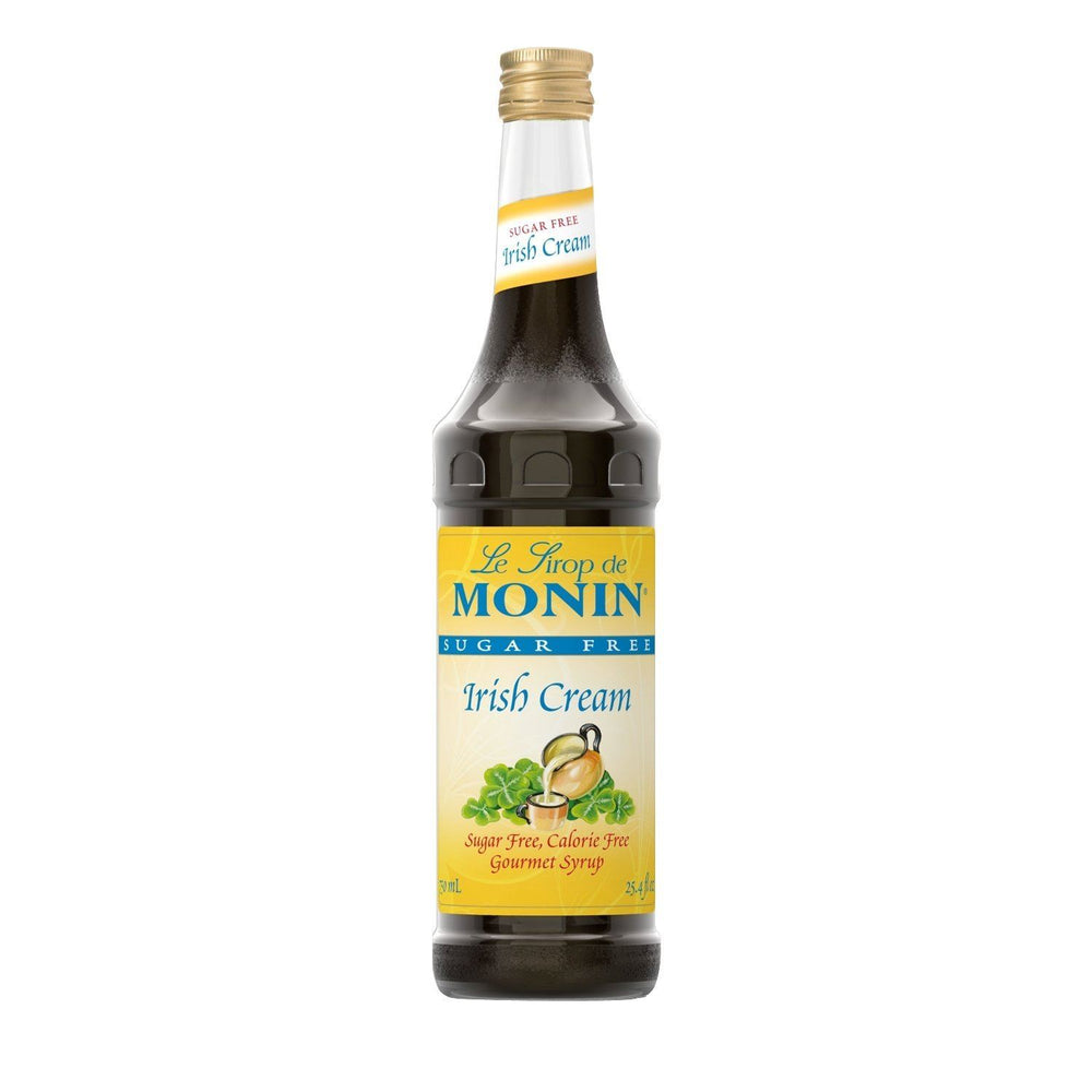 Monin Sugar-Free Irish Creme Coffee Syrup, 750 ml