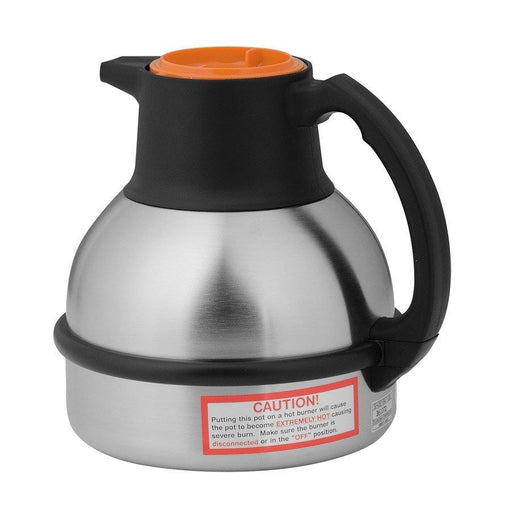 BUNN 1.9L Deluxe Thermal Carafe, ORANGE