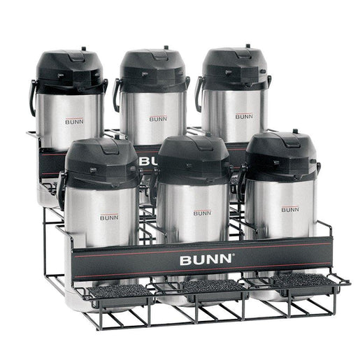 BUNN RACK ASSY, UNIV-6 APR-3 L/3U