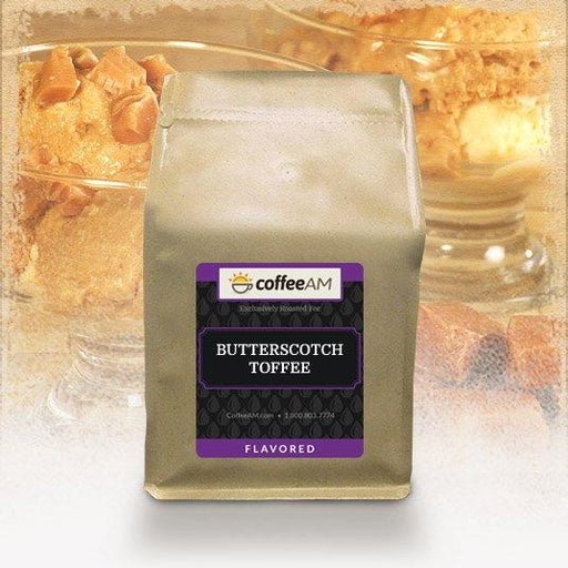 Butterscotch Toffee Cream Flavored Coffee