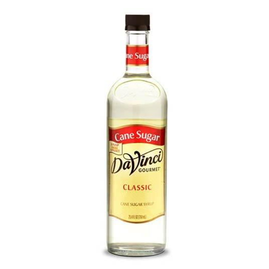 DaVinci Cane Sugar Syrup 750ml