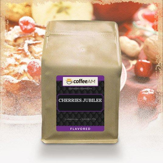 Cherries Jubilee Flavored Coffee