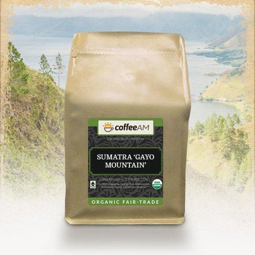 Organic Sumatra 'Gayo Mountain' Fair Trade Coffee