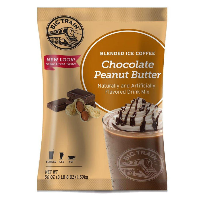 Big Train Chocolate Peanut Butter Blended Ice Coffee (3lb Bag)
