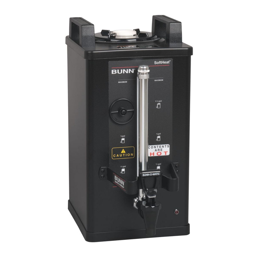 BUNN SH SERVER,1.5G/5.7L BLK NO FL