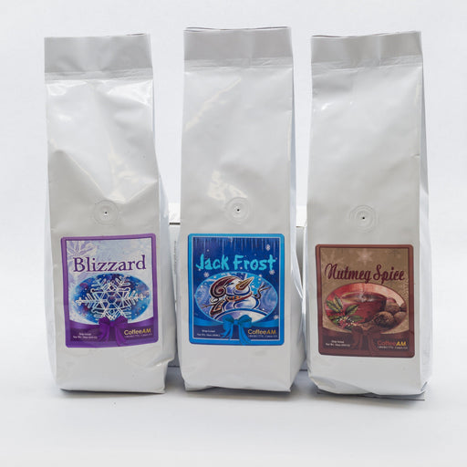 Holiday Flavored Coffee Sampler