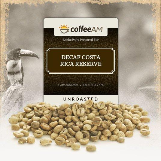 Costa Rica Green Decaf Coffee
