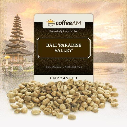 Bali 'Paradise Valley' Green Coffee