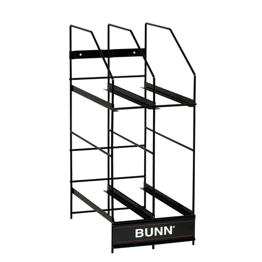 BUNN HOPPER RACK, MHG 4 POSITION