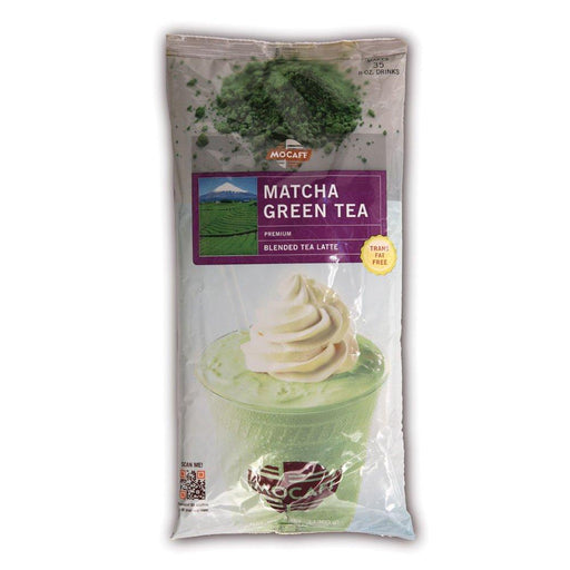 Mocafe Matcha Green Mix Case of 4 Bags (Contains Tea)