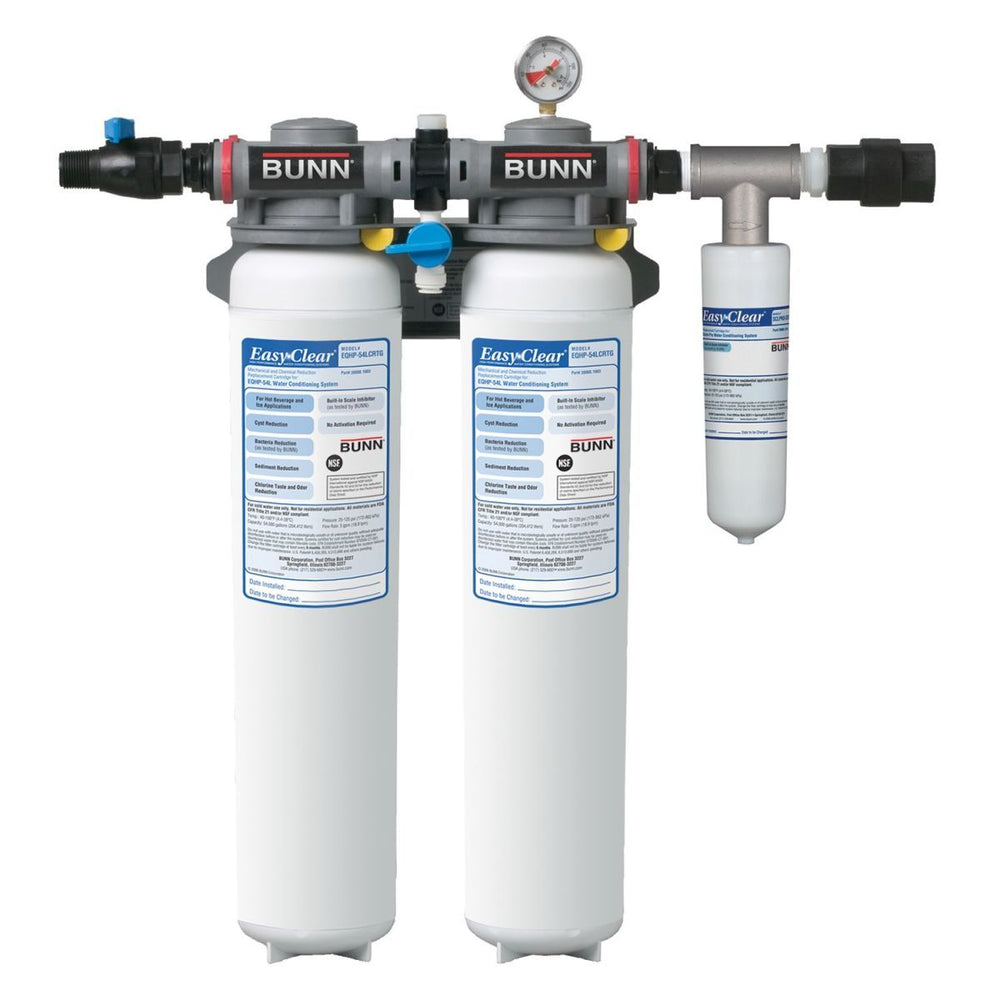 BUNN WATER FILTER SYS,EQHP-TWIN108SP