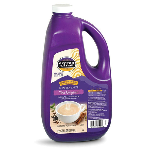 Case of 4 Oregon Chai Super Concentrate Half-Gallon