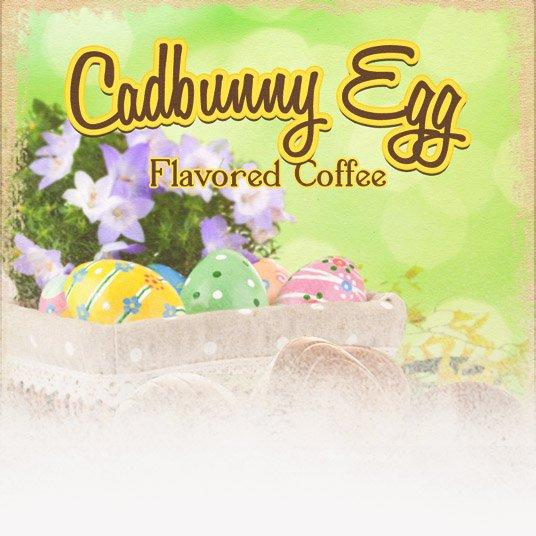 Cadbunny Creme Eggs Flavored Coffee (Easter Theme)