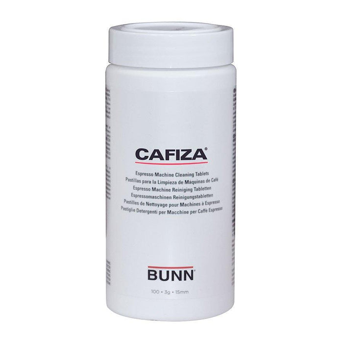 BUNN CLEANING TABLETS, CAFIZA 100 CT