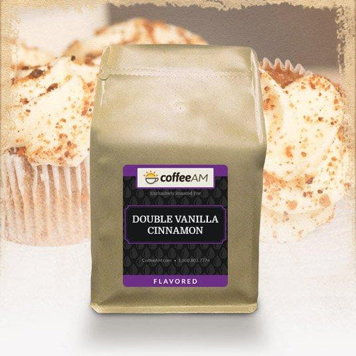 Double Vanilla Cinnamon Flavored Coffee