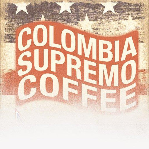 Colombia Supremo Coffee (Patriotic Theme)