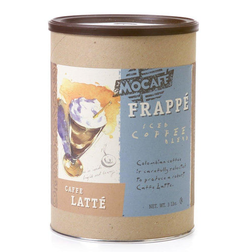 Mocafe Caffe Latte (3lb can - Case of 4)