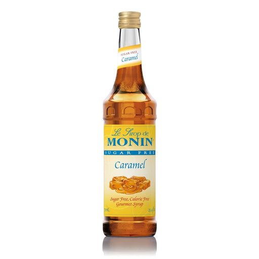 Monin Sugar-Free Caramel Coffee Syrup, 750 ml