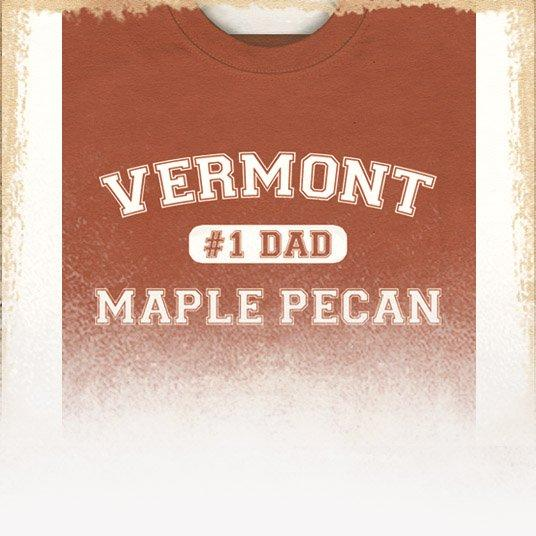 Vermont Maple Pecan Flavored Coffee (Father's Day Theme)