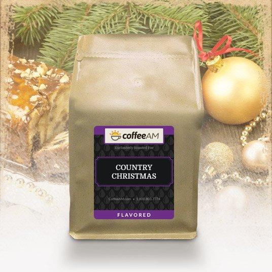 Country Christmas Flavored Coffee