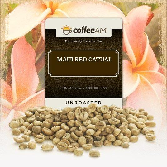 Maui Red Catuai Green Coffee