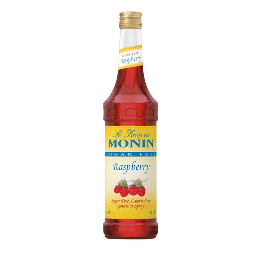 Monin Sugar-Free Raspberry Coffee Syrup, 750 ml