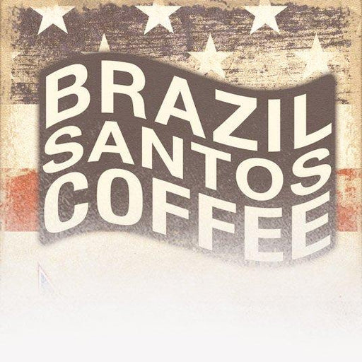Brazil Santos Coffee (Patriotic Theme)