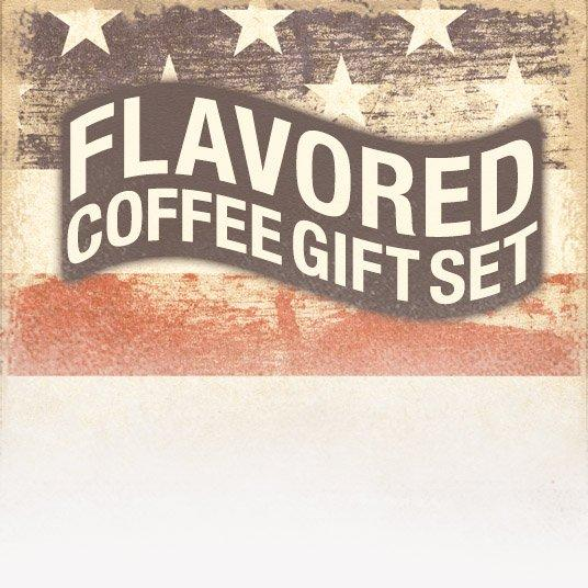 Patriotic Flavored Coffee Gift Set (Patriotic Theme)