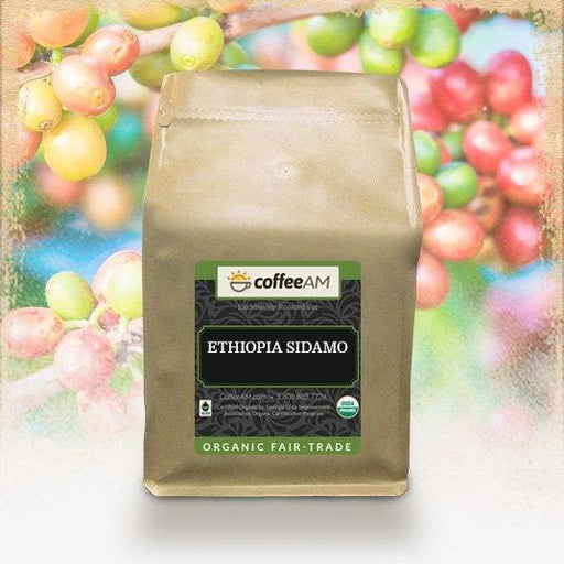 Organic Ethiopia Sidamo Fair Trade Coffee