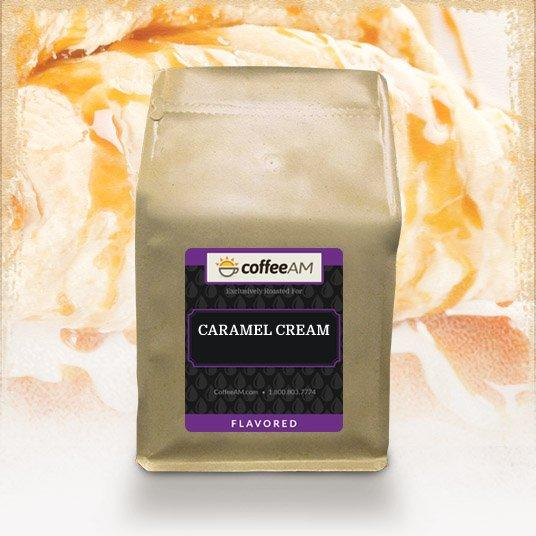 Caramel Cream Flavored Coffee